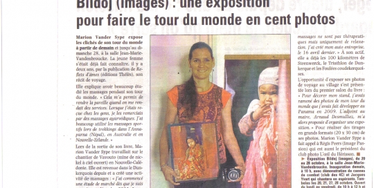 Article La Voix du Nord 19 octobre 2012